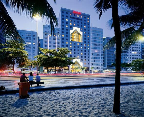 Suite in front of Copacabana Beach - 里約熱內盧 - 公寓