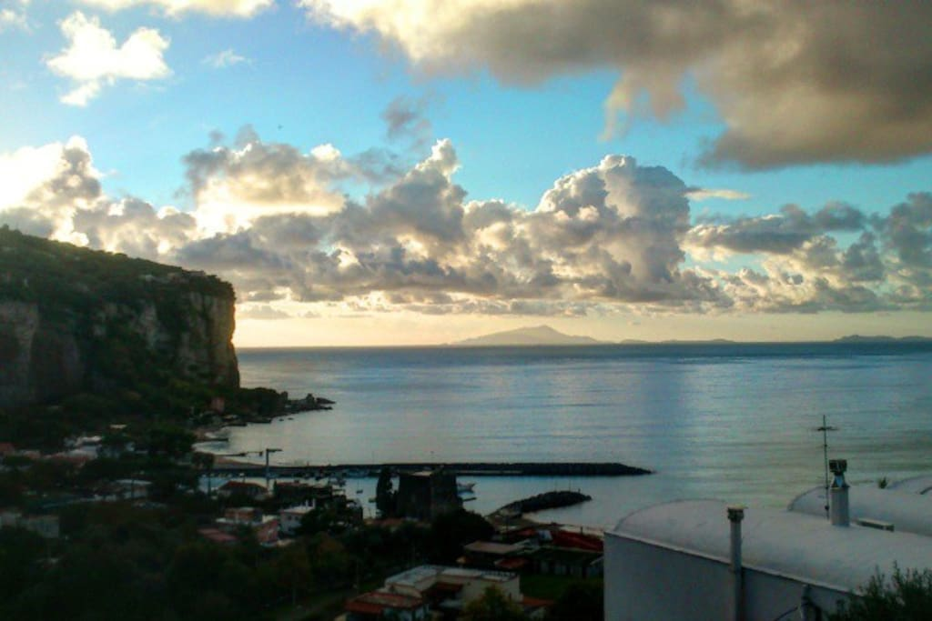 Panorama al tramonto / Sunset from terrace