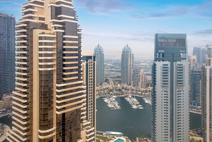 Cozy Studio | Beautiful Marina View | Dubai Marina