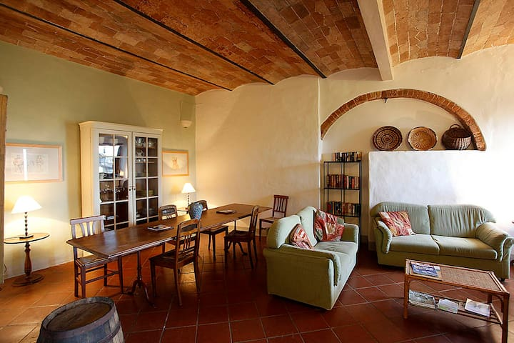 Large ApartmentI with pool -Chianti