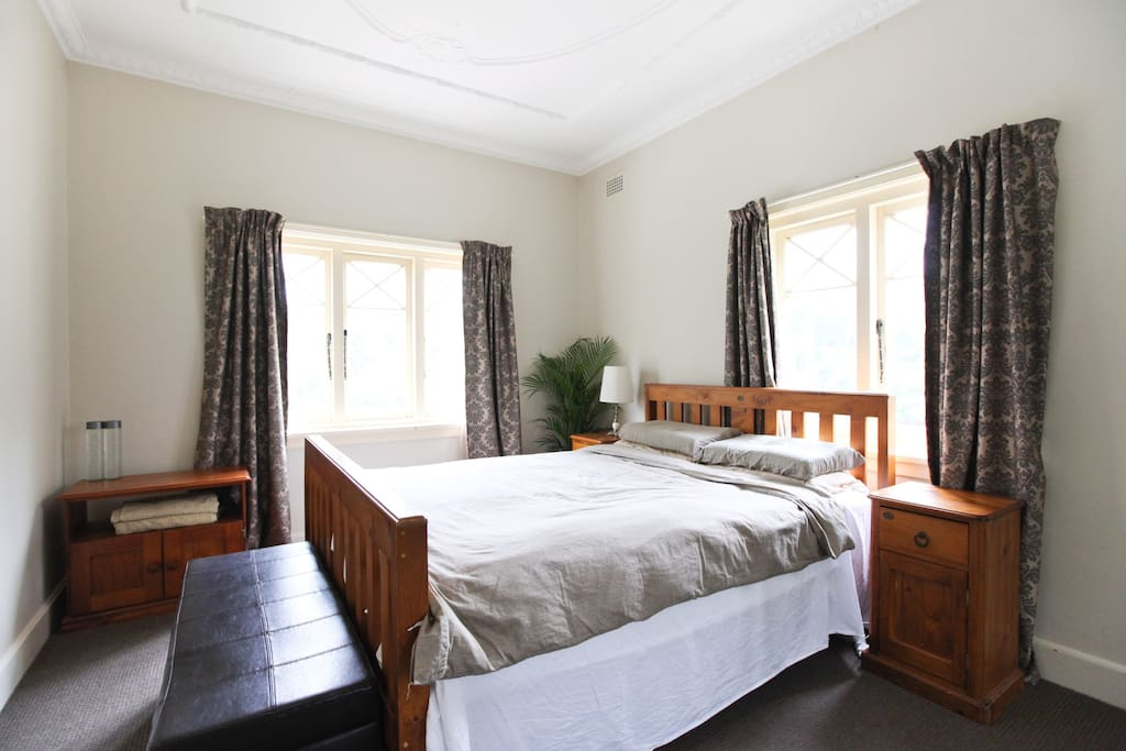 Bedroom 1 - Queen size bed with plenty of natural light