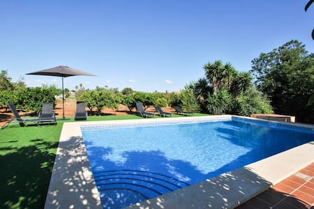 Beautiful country house for 6 people in Santa María del Cami with pool and WIFI