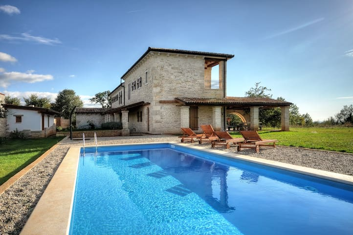 Rural istrian villa with pool - Jurcani - House