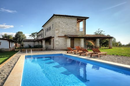 Rural istrian villa with pool - Jurcani - Hus