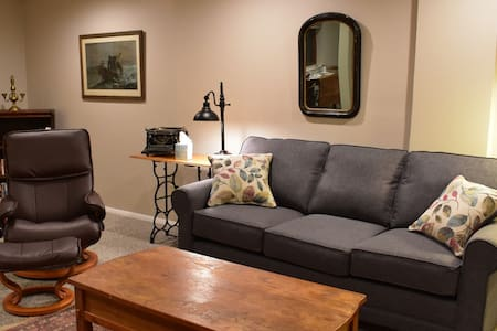 Cozy 1BD Garden Apt. Near Lake George, Saratoga