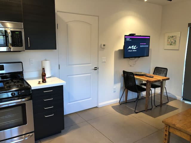 Dining Area with TV