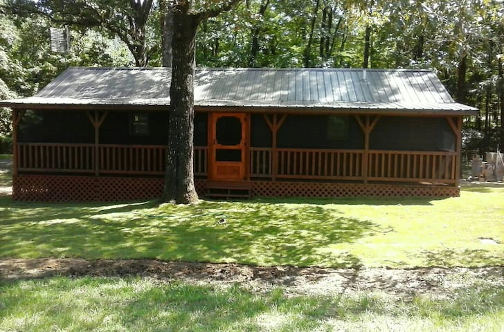 Luxury Cabin close to Grenada Lake Reservoir, MS - Coffeeville - Kabin