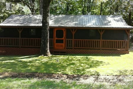 Luxury Cabin close to Grenada Lake Reservoir, MS - Coffeeville - Cabin