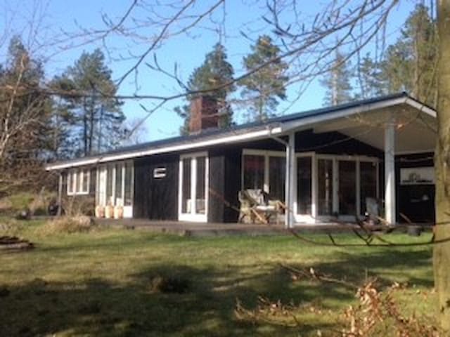 Wooden house in nature, a 45 min drive from Aarhus - Glesborg - Hus