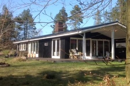 Wooden house in nature, a 45 min drive from Aarhus