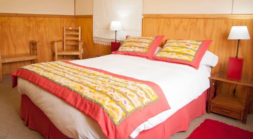 Habitación matrimonial Keoken Patagonia B&B