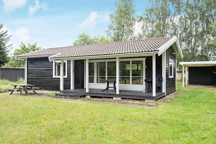 4 person holiday home in Ebeltoft