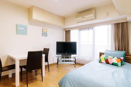 6 min walk to Roppongi Sta Located in Vibrant Area - Minato-ku - Apartamento