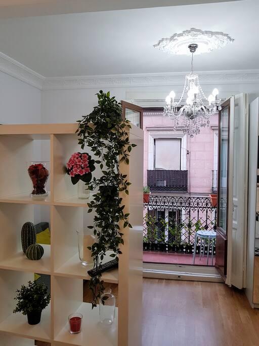 Main Room / Balcony