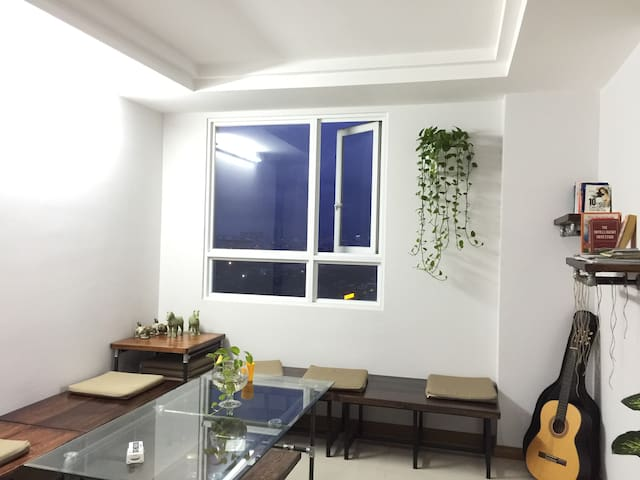 Sky Center hostel, Sun Room-9 beds in CBD Apt - Ho Chi Minh - Bed & Breakfast