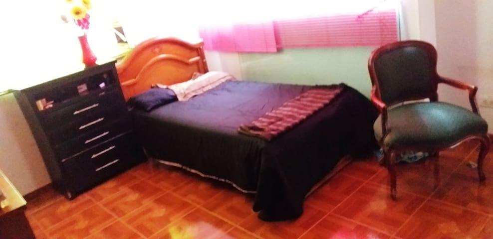 Un espacio ideal para descanzar, para una o dos personas sencillo pero amplio y dotado para estancia apacible
