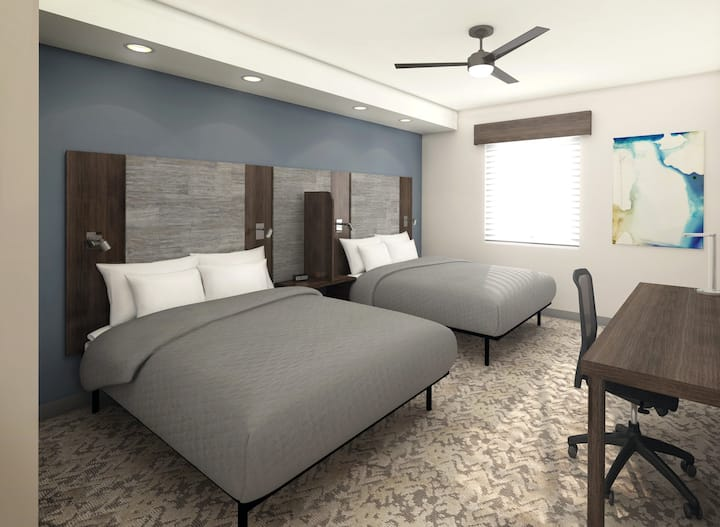 1 BR Double Queen Furnished Brand New