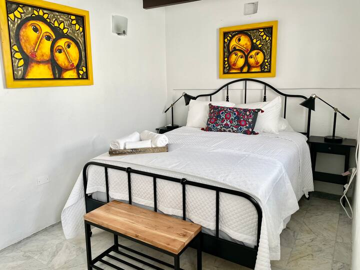 SJC-Iconic Spanish two bedrooms for 5 guest
