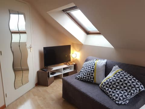 Well equipped studio - Nantes near center