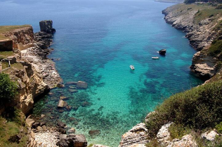 A pochi passi dal mare, immerso nel verde - Santa Cesarea Terme - Leilighet