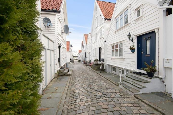 Stavanger city center wood house!