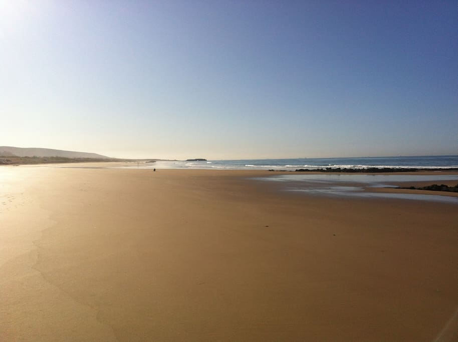 Beautiful Quiet Beach fantastic for running or walking
