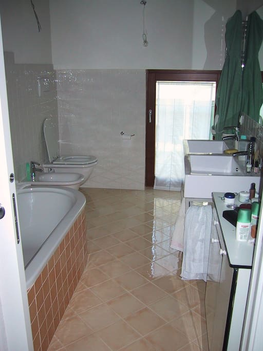 Bagno privato con vasca