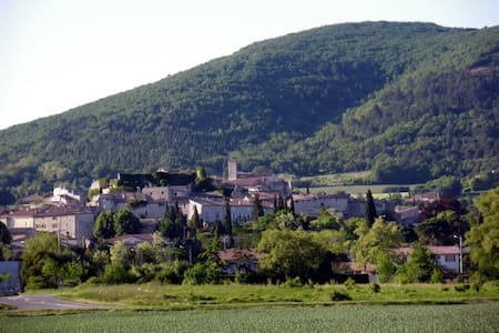 Gite in the Drôme - Sauzet - Talo
