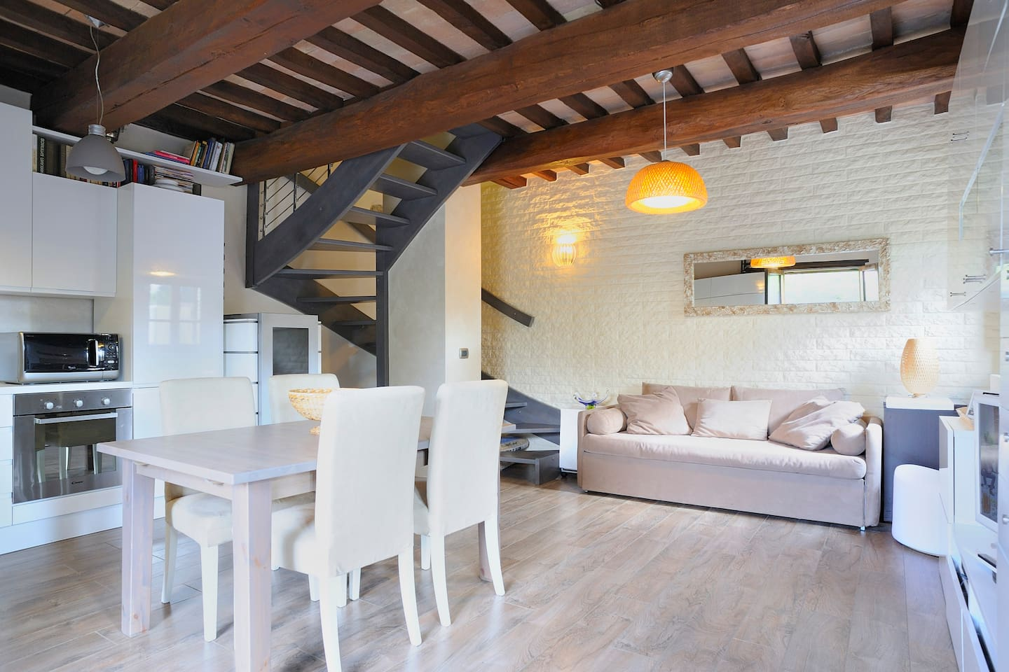 Loft room in Umbrian Country House