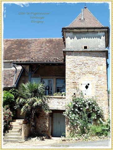Gîte 'Le Pigeonnier' à Etrigny - Sennecey-le-Grand