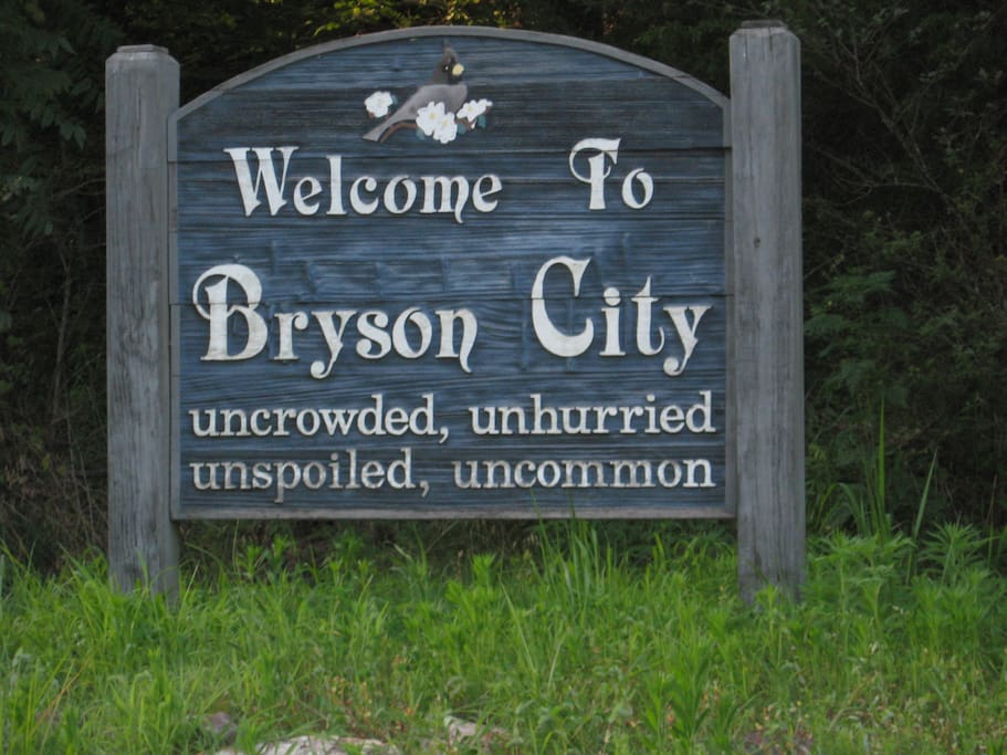 Bryson City was selected in 2014 as one of the best small towns in America for a visit