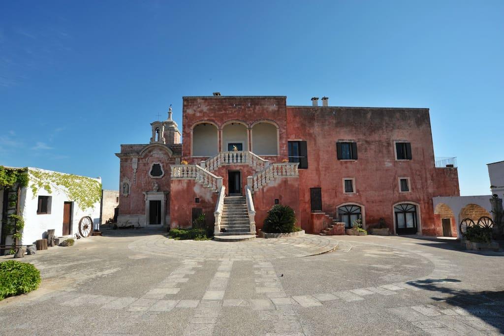 Masseria spina resort con piscina castelli in affitto a - Masseria in puglia con piscina ...