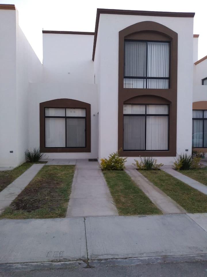 Linda Casa en Villa de Pozos, San Luis Potosí