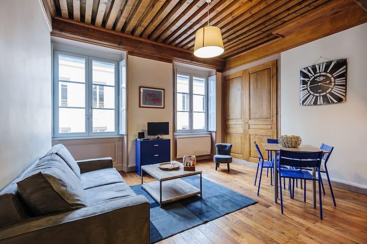 Cosy apartment in the Old Town 2 - Lyon - Apartamento