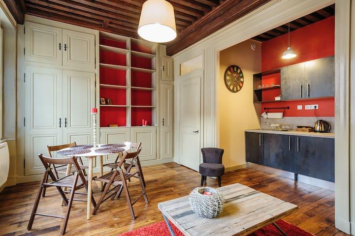 Cosy apartment in the Old Town 3 - Lyon - Apartamento
