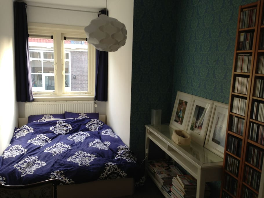 Delft Blue room. Nice and cosy.