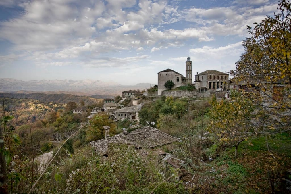Dikorfo is one of the most well-preserved villages in Greece!...