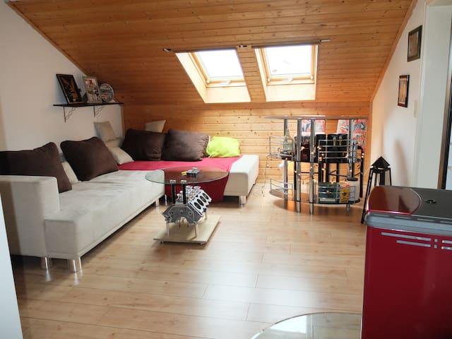 Allgäu - Schöne Dachgeschosswohnung - Haldenwang nahe Kempten/Allgäu Allgäu - House