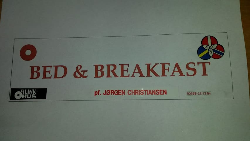 Bed and breakfast in the heart of Thorshavn room 1