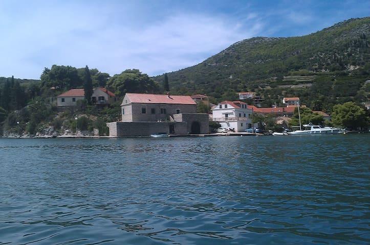 Charming Villa on seashore in Zaton - ドゥブロヴニク - 別荘