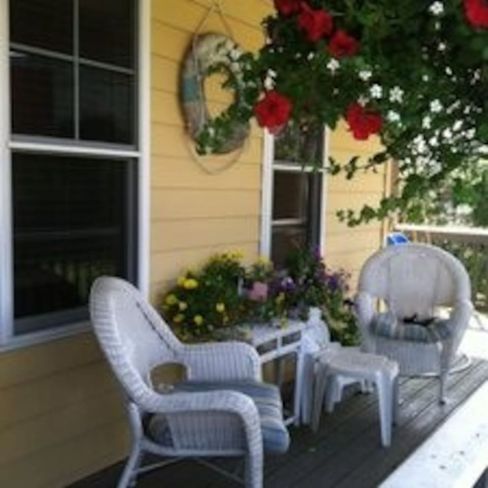 Our lovely front porch