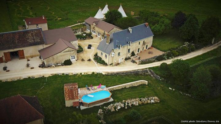 Chambres d'hôtes au Domaine de Badard