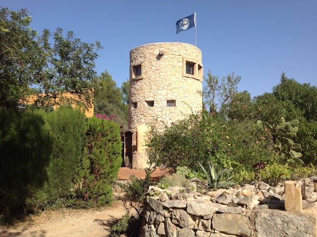 Rustic tower/studio in natural parc - Javea - Rumah