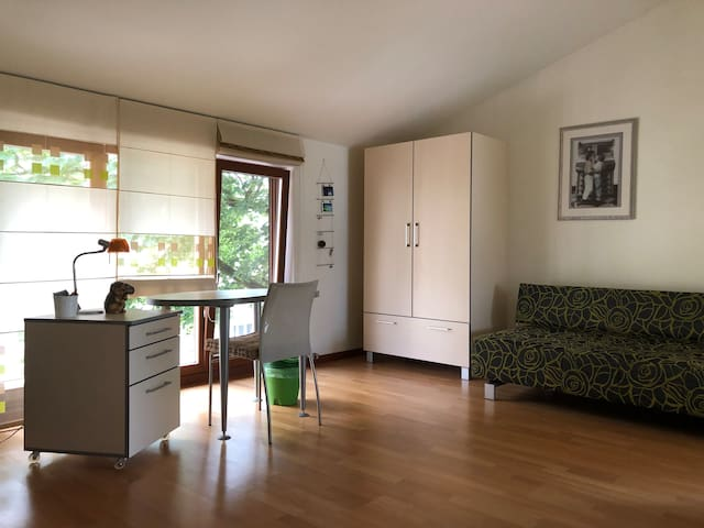 1 separate bedroom in the city center