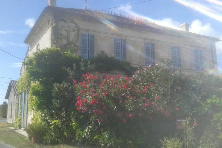 La maison de Cacothy (la chambre bleue) - Queyrac