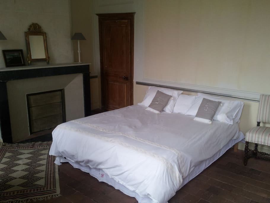 chambre d 39 h tes zoo de beauval bed and breakfasts for rent in saint aignan centre france. Black Bedroom Furniture Sets. Home Design Ideas