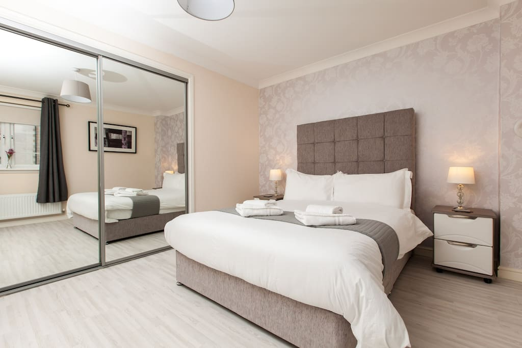 Bedroom 1 - Double Bed and fitted wardrobe