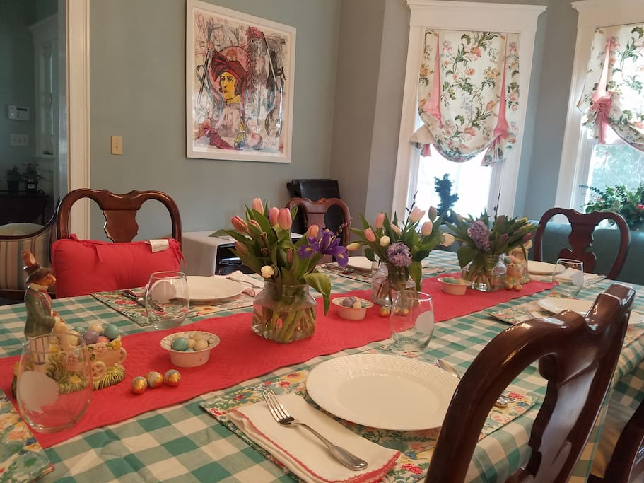 Wonderful farm to table breakfasts