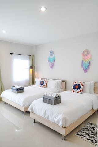 Everyday Home/Lovely Room for 3/Near Nimman