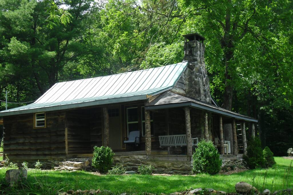 Sam 39 s cabin on the watauga river cabins for rent in for Fishing cabins in nc